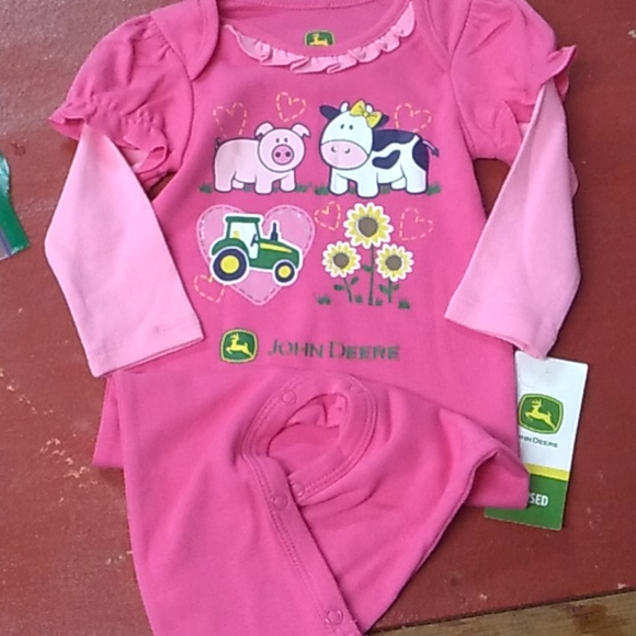 John Deere One Piece Outfit